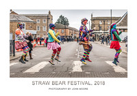 Straw Bear, Whittlesey, 2018