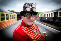 Victorian and Steampunk Event at NVR, Peterborough 24.05.15