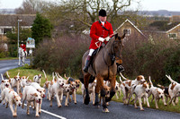Hunt at Stilton 26.12.12