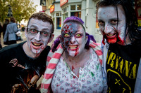 Zombie Walk, Peterborough, 2015