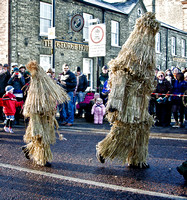 Straw Bear, Whittlesey, 2012